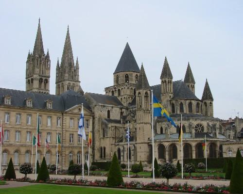 Caen Abbey of Saint-Étienne