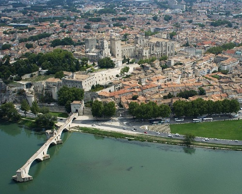 Avignon City Skyline