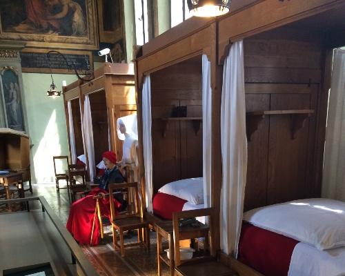 Hospice de Beaune Ancient Beds