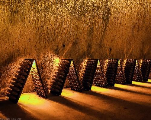 Underground Champagne Racks