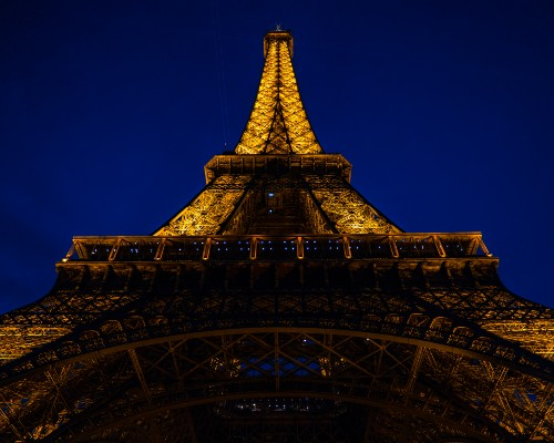 Eiffel Tower from the footsteps