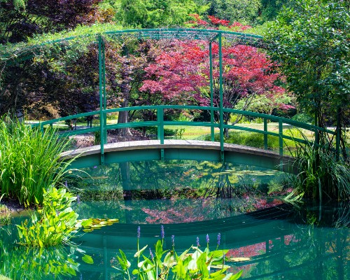 Monet's Garden Bridge