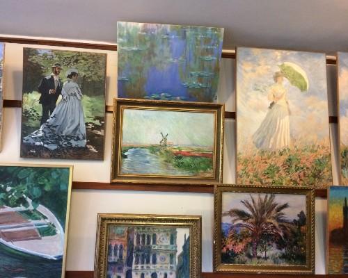 Monet's Landscape Paintings