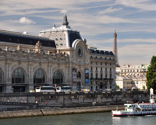 Musée d'Orsay Riverside View