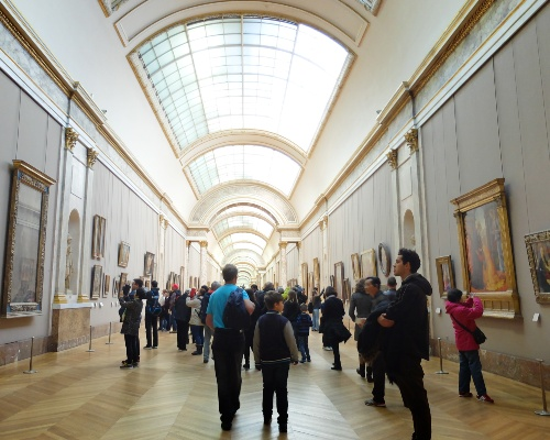 The Louvre Painting Hall