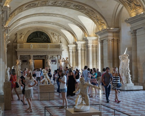 The Louvre Sculpture Hall