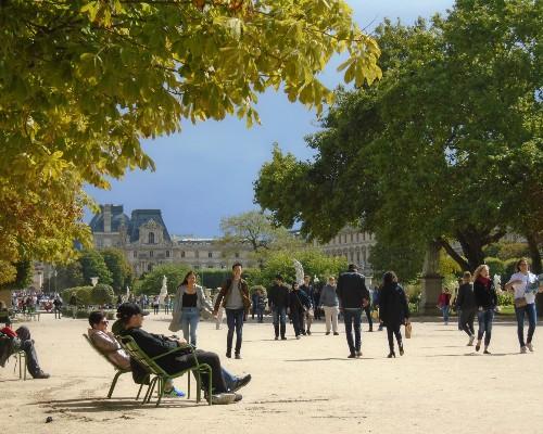 Tuileries Gardens Pathway