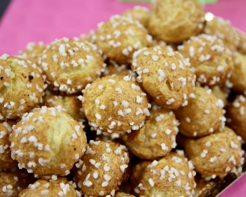 French Chouquettes