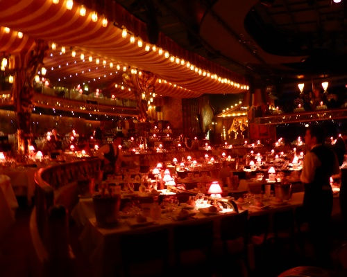 Dinner Show at the Moulin Rouge