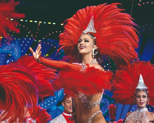 Moulin Rouge Can-Can Show