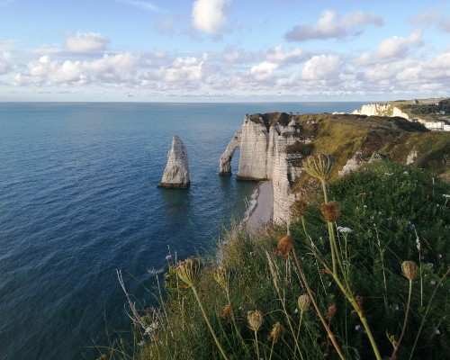 Etretat Arc Cliffs