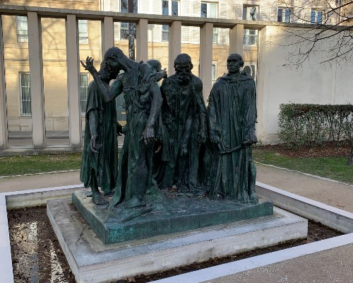 The Founders of Calais Statue