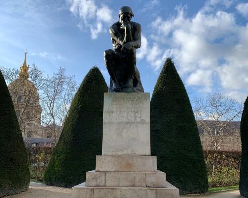 The Thinking Man Statue