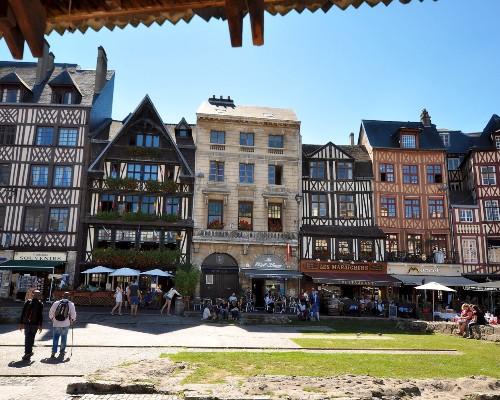 Rouen Jeanne d'Arc Square
