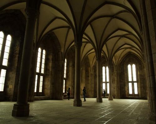 Mont-Saint-Michel Abbey Chapel