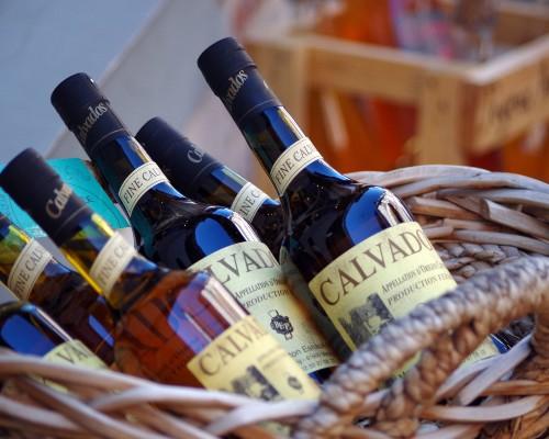 Mont-Saint-Michel Calvados Cider Bottles