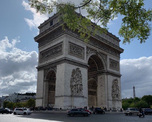 l'Arc de Triomphe Side View