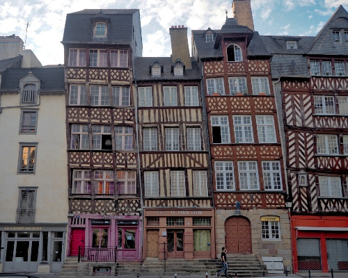 Brittany and Mont-Saint-Michel's Heritage with treats - Rennes's Brittany Architecture