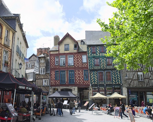 Brittany and Mont-Saint-Michel's Heritage with treats - Town of Rennes - 500x400px